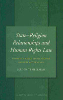 State Religion Relationships and Human Rights Law PDF