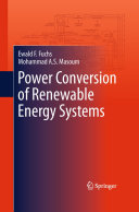 Power Conversion of Renewable Energy Systems
