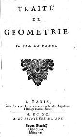 Traité de géometrie