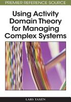 Using Activity Domain Theory for Managing Complex Systems PDF
