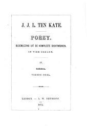 Poëzy: bloemlezing uit de kompleete dichtwerken, Volume 4
