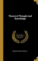 Theory of Thought and Knowledge PDF