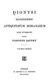Antiquitatum Romanarum quae supersunt: Volume 59