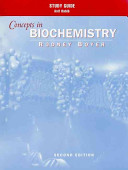 Study Guide to Accompany Concepts in Biochemistry  2nd Edition PDF