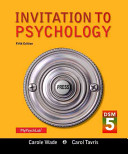 Invitation to Psychology with DSM-5 Update