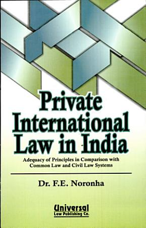 Private International Law in India PDF