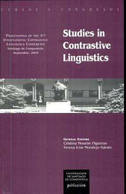 Studies in Contrastive Linguistics