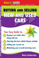 Buying and Selling New and Used Cars