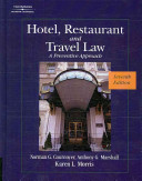 Hotel  Restaurant  and Travel Law PDF