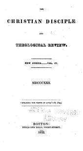 The Christian Disciple: Volume 4