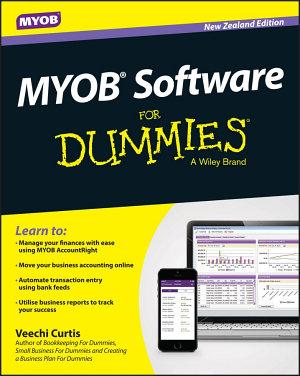 MYOB Software For Dummies   NZ