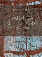 Carmina Cilentana per canto e orchestra volume primo