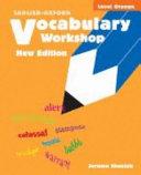 Vocabulary Workshop Level Orange  New Edition  PDF