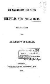 Die Geschichten und Taten Wilwolts von Schaumburg: Band 50