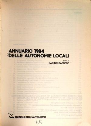Annuario delle autonomie locali PDF