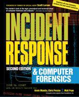 Incident Response   Computer Forensics  2nd Ed  PDF