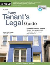 Every Tenant's Legal Guide: Edition 8