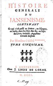 Histoire générale du jansénisme: Volume1