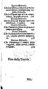 L' huomo caduto overo la corrutione della natura per il peccato: Conforme a' sentimenti di S. Agostino, Volume 1