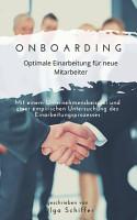 Onboarding   optimale Einarbeitung f  r neue Mitarbeiter PDF