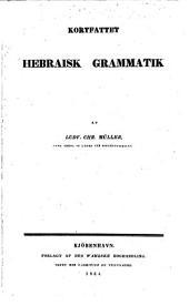 Kortfattet hebraisk Grammatik