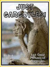 Just Gargoyles! vol. 1: Big Book of Gargoyle Statues Photographs & Pictures