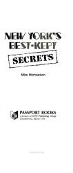 New York s Best kept Secrets PDF