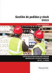 UF0929 - Gestión de pedidos y stock