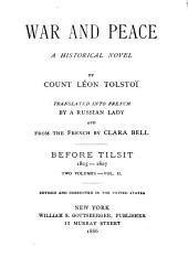 War and Peace: A Historical Novel, Volume 2