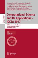 Computational Science and Its Applications     ICCSA 2017 PDF