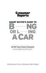 Smart Buyer s Guide to Buying Or Leasing a Car PDF