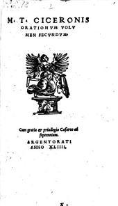 Orationvm Volumina Tria ... Emendata A Ioan. Stvrmio: Volume 2