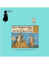 1882年英文童书绘本 Hey Diddle Diddle And Baby Bunting (猫咪迪多与胖娃娃)