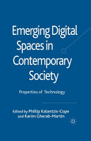 Emerging Digital Spaces in Contemporary Society PDF