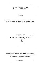 Mistakes in religion exposed: in an essay on the prophecy of Zacharias
