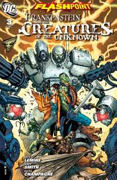 Flashpoint: Frankenstein & the Creatures of the Unknown (2011-) #3