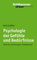 Psychologie der Gef  hle und Bed  rfnisse PDF