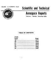 Scientific and Technical Aerospace Reports PDF