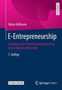 E Entrepreneurship PDF