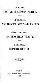Trattato d'economia politica