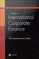 A Reader in International Corporate Finance PDF