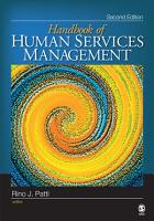 The Handbook of Human Services Management PDF