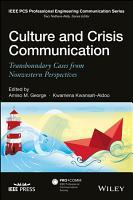 Culture and Crisis Communication PDF