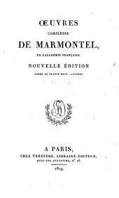 Œuvres complètes de Marmontel: Volume16