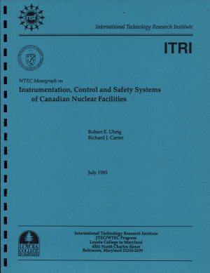 Instrumentation, Control and Safety Systems of Canadian Nuclear Facilities