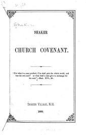 Shaker Church Covenant