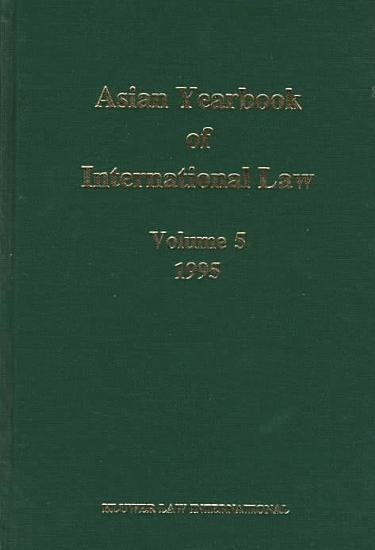 Asian Yearbook of International Law 1995 PDF