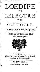 L' Oedipe et Electre