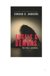 ANGELS & DEMONS: The Bible Answers