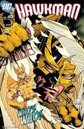 Hawkman (2002-) #43